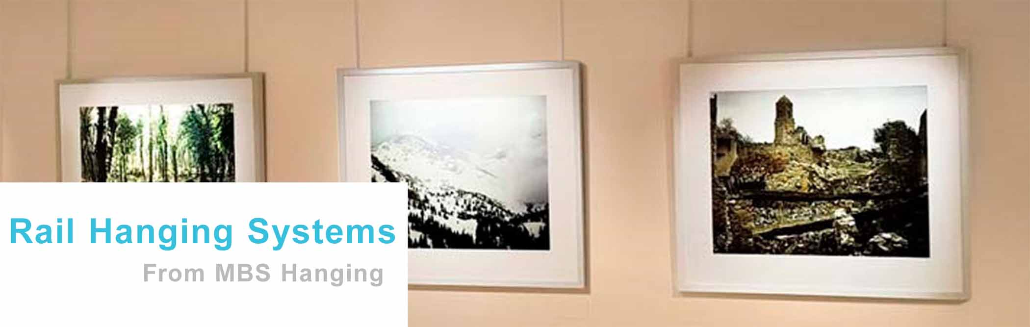Art & Picture Hanging Systems for Home and Business