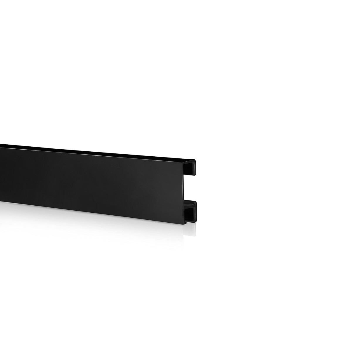 Easy Rail System, Black Anodized Finish