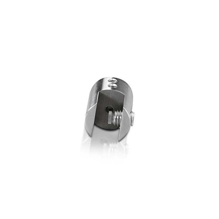 Cable Suspended - Up to 3/8'' - Top Edge Side Clamp - Stainless Steel - For Cable