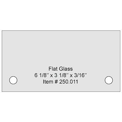 Tempered glass (ESG glass)